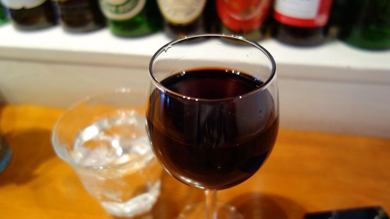 バーガーカンパニーさんのランチのグラスワイン