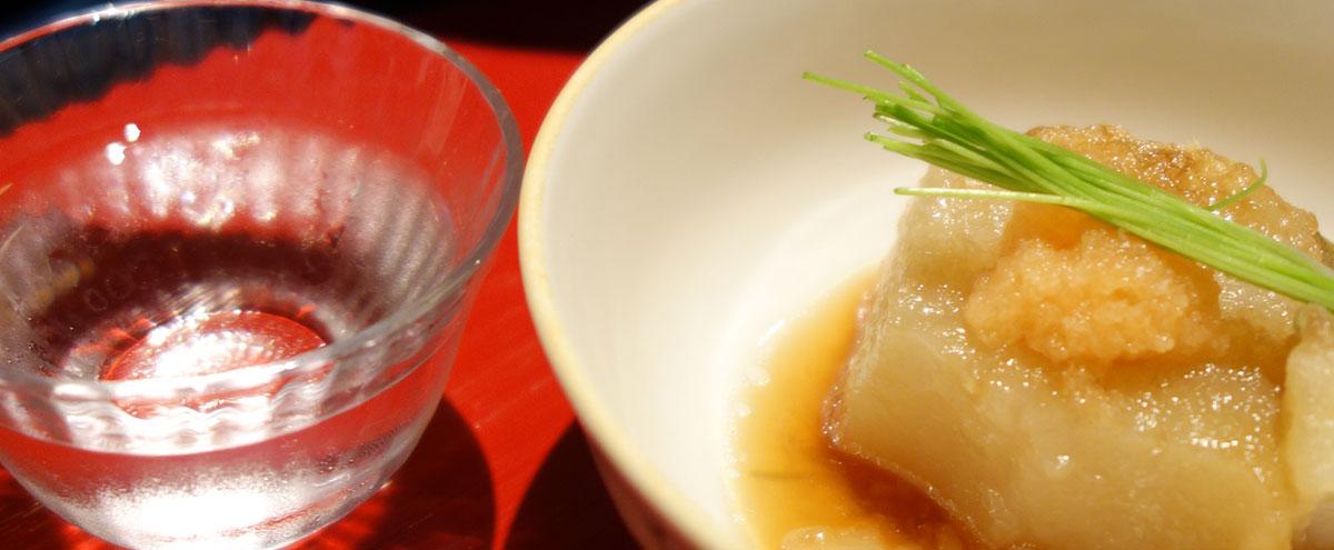 一の傳 ランチ 白子豆腐