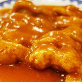 京風中華 鳳飛(ほうひ)さんでからし鶏とあんかけ焼きそばとか。堀川通り沿い