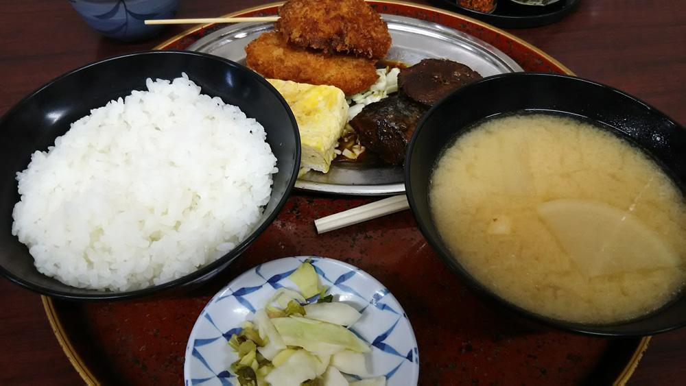 今井食堂さんのおすすめ定食