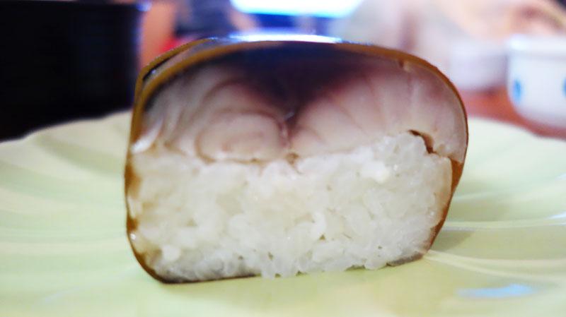 柿千さんの棒鮓(鯖寿司)