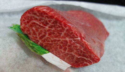 牛肉の部位はとうがらし肉(ウデ)がウマい。たたきが個人的におすすめ。