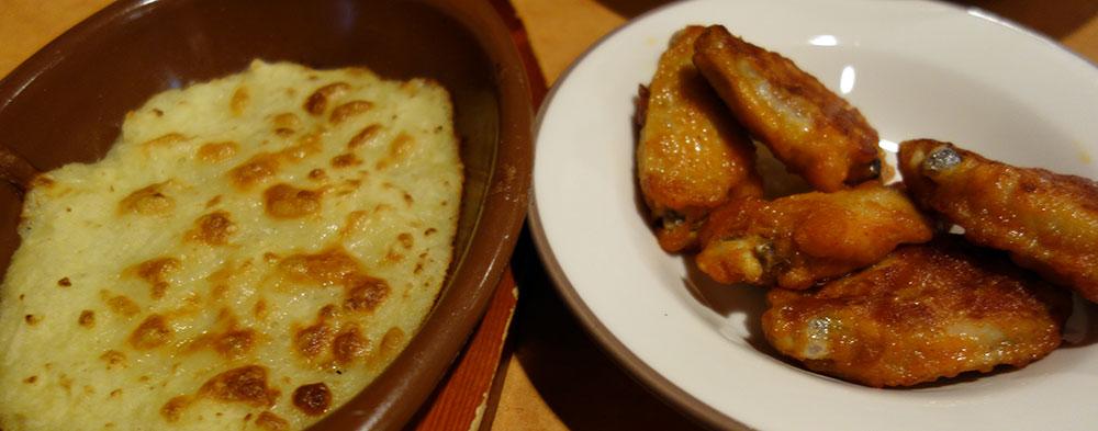サイゼリヤのフリウリ風フリコと辛味チキン